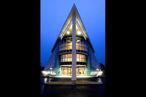Main entrance, Hilton Garden Inn, Luton